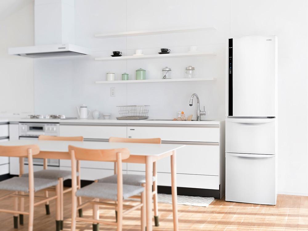 圖四-奇美鮮靜美冰箱搭載Hi真空斷熱科技-強效斷熱-省電效率再升級-讓你輕鬆過好年(圖中商品型號:UR-P38VC1)
