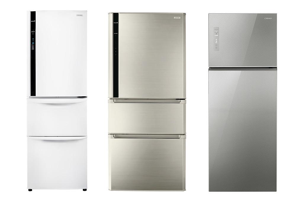 圖七-奇美鮮靜美冰箱設計規格-上冷藏下冷凍-符合人體工學讓你輕鬆操作(圖中商品型號:UR-P38VC1)