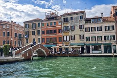 Fondamenta  Pigan and Cazziola (Nigel Musgrove-3 million views-thank you!) Tags: italy italia venezia veneto pigan cazziola rio del tre pont fondamenta canal bridge