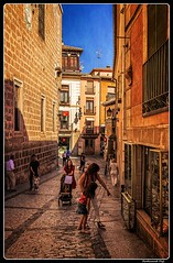 Toledo_Calle Cardenal Cisneros_Castilla-La Mancha_ES (ferdahejl) Tags: toledo callecardenalcisneros castillalamancha es dslr canondslr canoneos800d