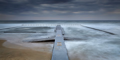 Austinmer Pool - South Coast - NSW (paulbartle - Shot2frame Photography) Tags: austinmerbeach littleaustinmer thirroul bulli coledale wombarra illawarra southcoast canon canon5dmk3 nisi nisifilters nsw newsouthwales australia pacificocean longexposure moodycloud shot2frame shot2framephotography