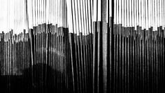 Abstract News - Explored (Sean Batten) Tags: london england unitedkingdom canarywharf eastlondon docklands blackandwhite bw ricohgr city urban newspaper abstract