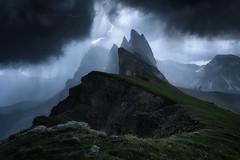 Thunderdol (JD Photographie.) Tags: thunder dolomites dolomite dolomiti alps orage mountains mountain rain wind danger dangerous landscape italy italie italia alpes nature