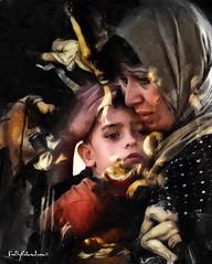nativité et réfugiés syriens en  Grèce (pixbyroland.com) Tags: refugees syria