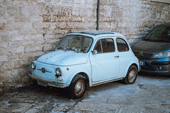 Old Fiat 500, Bari Old Town (Steve Bellamy) Tags: italy bari fiat old history town oldtown travel