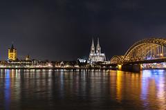 L1000513_1_Leica_Q2_122019_Köln_Dom1 (peterjh2010) Tags: cologne köln rhein skyline nightshot architecture river colorful leicaq2 germany cityscape city