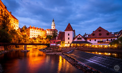 Cesky Krumlover (dlerps) Tags: amount cz ceskykrumlov czech czechrepublic daniellerps eu europeeuropa lerps photography sony sonyalpha sonyalpha99ii sonyalphaa99mark2 sonyalphaa99ii httplerpsphotography lerpsphotography vltava river water bluehour reflection castle palace fortress buildings night longexposure architecture distagon2420za carlzeiss distagont224 civiltwilight carlzeissdistagon24mmf20 twilight dusk evening lights tower bridge státníhradazámekčeskýkrumlov statecastleandchateaučeskýkrumlov