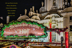 """I wish all my Flickr friends """"Merry Christmas""""! 🎄 (a7m2) Tags: merry christmas vienna amhof innerestadt freyung cinnamon lavender traditional stands handicrafts adventdecorations travel tourismus frankincense honeyproducts"""