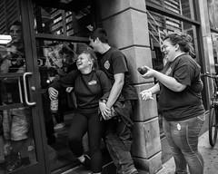 Manhattan, 2018 (Alan Barr) Tags: newyork newyorkcity nyc ny manhattan 2918 street sp streetphotography streetphoto blackandwhite bw blackwhite mono monochrome candid city people panasonic gx85
