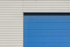Blue and grey (Jan van der Wolf) Tags: map185335v blue grey grijs blauw lines lijnen door deur gevel facade minimalism minimalistic minimalisme minimal minimlistic simple simpel