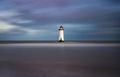 Talacre sunrise (Lukasz Lukomski) Tags: lighthouse wales water beach sand tide hightide coast flintshire uk unitedkingdom greatbritain cymru talacre pointofayr