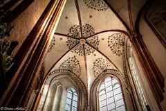 Kuppeldach in der Marienkirche Lübeck (Dieter Höhnel) Tags: kuppel kirche dach bögen fenster