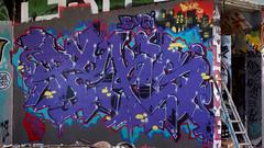 Oldenburg - (street: Melkbrink) 1014th picture / Graffiti, street art (tusuwe.groeber) Tags: projekt project lovelycity graffiti germany deutschland lowersaxony oldenburg city streetart niedersachsen farbig farben favorit colourful colour sony sonyphotographing nex7 bunt red rot art gebäude building gelb grün green yellow konzept concept wall wand halloffame wandgestaltung lager lagerhalle hall halle melkbrink