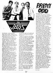 The Jags (stillunusual) Tags: barbedwire fanzine punkfanzine punkzine punk postpunk indie mod guildford thejags jags 1980s 1980