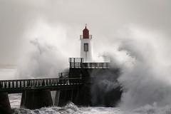 Tempête Fabien sur Les Sables d'Olonne, Vendée F (michellouvel85) Tags: tempête lessablesdolonne vendée vague storm phare lachaume tempêtefabien fabien waves sonyphotographing