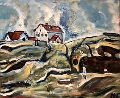 Thacher Island (The Big Jiggety) Tags: painting art arte kunst peinture huile oile oleo lienzo tela toile canvas isle esland massachusetts capeann rockport