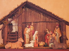 The crib happy christmas in EXPLORED 24 / 12 / 2019 (seenbynick) Tags: crib wood christmas figures