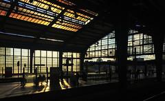 Berlin Friedrichstraße (Renate R) Tags: berlin trainstation friedrichstrasse light licht bahnhof bestcapturesaoi elitegalleryaoi aoi