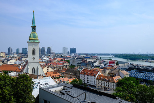 View from Bratislava Castle