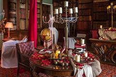 Tatton's Christmas Mansion (Maria-H) Tags: tattonhall tattonpark christmas cheshire uk olympus omdem1markii panasonic 100400