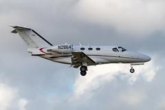 N2864 Citation 510-0112 KFXE (CanAmJetz) Tags: n2864 citation cessna 5100112 kfxe fxe bizjet aircraft airplane nikon
