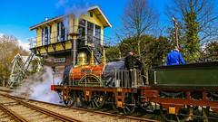 """de Arend"" - steaming and shining (Ramireziblog) Tags: boiling station stoom steam spoorwegmuseum utrecht dearend stoomlocomotief"