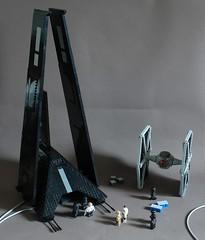 Director Krennic's Shuttle (Sydag) Tags: lego moc space scifi starwars shuttle orsonkrennic deltaclass t3c rogueone tiefighter tie