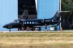 N86BR Learjet 55-090 KFXE (CanAmJetz) Tags: n86br learjet 55090 kfxe fxe bizjet aircraft airplane nikon