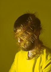 Merry (milanvopalensky) Tags: boy male man self selfportrait portrait christmas yellow concept conceptual surreal surrealism czech canon 5d mark iv 50mm 12 chain merry