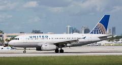A319 | N851UA | FLL | 20191112 (Wally.H) Tags: airbus a319 n851ua unitedairlines fll kfll fortlauderdale hollywood airport