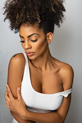 Daniella (NK-PHOTOGRAPHER) Tags: model french melanin black noir paris france sexy ebony bowens beauty dish attitude curls curly beauté francaise portrait portraiture bol canon photographer frenchmodel frenchphotographer