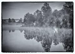 Morning fog at Lake Kell (werner-marx) Tags: analog film meinfilmlab mediumformat agfaisolettei agnar kodakportra400 kellamsee lakekell fog foggy mist