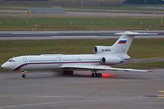 RA-85686 ZRH 18.12.2019 (Benjamin Schudel) Tags: ra85686 zrh lszh zurich international airport tupolev tu154 russian air force russia state transport company