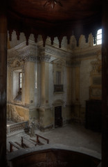 Without God there's no structure, no order. (Fragile Decay) Tags: chiesa church pulpit view forbidden forgotten fragiledecay exploring empty eglise lost