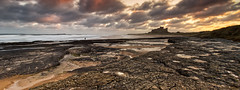 To Clone or Not To Clone? (captures.in.time) Tags: landscape landscapephotography northumberland england iconic le longexposure water rock ngm ngc photography seascape coastal coast beach rocks bamburgh castle sunrise northumbria canon canonphotography light