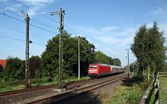 Formsignale (4) (Klaus Z.) Tags: eisenbahn kbs 395 marienhafe ostfriesland br 101 personenzug intercity ic db fernverkehr sommer