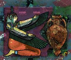 Egyptian inspiration (SØS'Art) Tags: art artistic filterforge photoshop photomanipulation digitalart solveigøsterøschrøder nature colors color egyptian inspiration 100views 300views