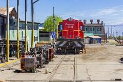 Fepasa Dt-1812   Maestranza Los Andes (Felipe Radrigán) Tags: ferrocarril locomotive locomotora chile estacion railway railroad train tren fepasa 1812 dt1812 alco dl535rsd motor engine primemover losandes