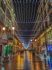 Calle Alfonso (Zaragoza) (tonygimenez) Tags: gente ciudad urbana city reflejos luces navidad noche nocturna aragón zaragoza
