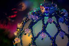 ForTheHolidays (Lo8i) Tags: holiday macro beads bokeh hanging odc bestwithholidaysis ornament macromondays
