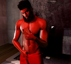 Now you just showing off (Miguel Levi) Tags: punch this is wrong slphotography secondlife secondlifephotography yuth cheerno
