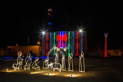 City of Safford Office Building (Brad Prudhon) Tags: 2019 arizona christmas cityofsaffordofficebuilding courthouse daytrips december downtown grahamcounty richmond safford decorations lights