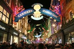 Carnaby Street @ Christmas (crashcalloway) Tags: carnabystreet london westend londonswestend christmas christmas2019 lights christmaslights nighttime nightphotography afterdark