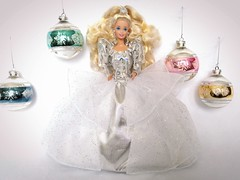 Happy Holidays Cristalline Barbie #1429 from 1992 (VintageZealot) Tags: christmas holiday vintage happy holidays barbie retro 1992 merry mattel 1990s 90s 1429 cristalline china white fashion silver grey star outfit clothing model doll super clothes blonde velcro superstar modelling caucasian ball shiny dress mesh crystal metallic under over skirt diamond pearl gown sparkly sheer ballgown underskirt overskirt winter hair pumps band earring jewelry ring iridescent earrings dots hairband sleeves poofy jewel