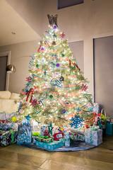 51/52 Christmas Tree (melbaczuk) Tags: christmastree christmas lights xmas presents gifts angel week512019 startingtuesdaydecember172019 52weeksthe2019edition explore