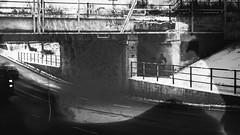 (rjbeeswax) Tags: bridge livingbridge edmonton alberta canada blackandwhite yeg