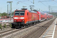DB Regio 146 115 Weil am Rhein (daveymills37886) Tags: db regio 146 115 weil am rhein baureihe bombardier traxx ac1