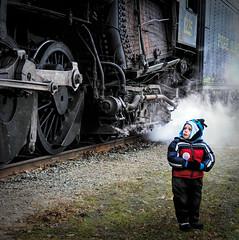 Big Eyes, Big Train (lleon1126) Tags: child train locomotive steamengine peremarquette1225 polarexpress railroad friendlychallenges diamondaward