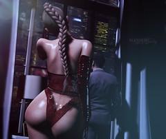 N621 Are You Ready To Unwrap Me Now? (Tiffany's Blended Beauty Blog) Tags: oushk narcisse fameshedx punch stealthic maitreya lelutka glamaffair foxcity applefall fancydecor theloft faceofcalendargirls2020