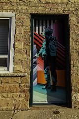 Rockers Only (aerojad) Tags: eos canon 80d dslr 2019 autumn outdoors chicago art artinpublicplaces mural murals streetphotography streetart streetscape doors doorway
